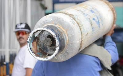 Gas sube 21 pesos por tanque en Tepa