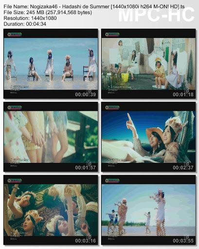 [MUSIC VIDEO] 乃木坂46 – 裸足でSummer (2016.07.27/MP4/RAR)