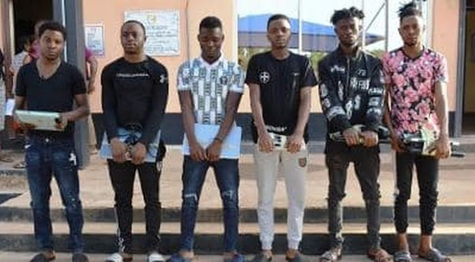 Exotic Cars Recovered As EFCC Arrests Seven Yahoo Boys In Ibadan (Photos)