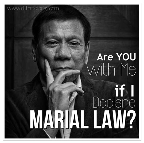 Public to Support Duterte Even if he Declares Martial Law   Get
