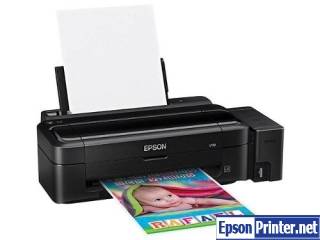 How to reset Epson C99 printer