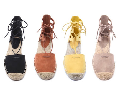 Forever 21 Finds: Aquazzura Belgravia Lace Up Espadrille Sandals