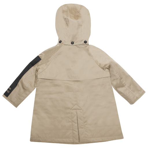Thumbnail images of Burberry Boys Beige Raincoat