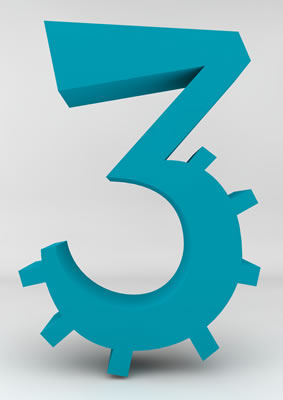 lettre 3D homme joker turquoise - 3 - images libres de droit