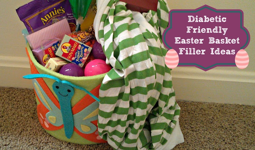 Diabetic Friendly Easter Basket Ideas