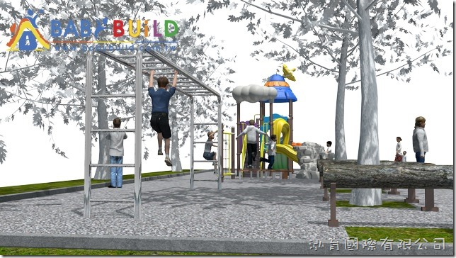 BabyBuild 冬季戀歌主題遊具