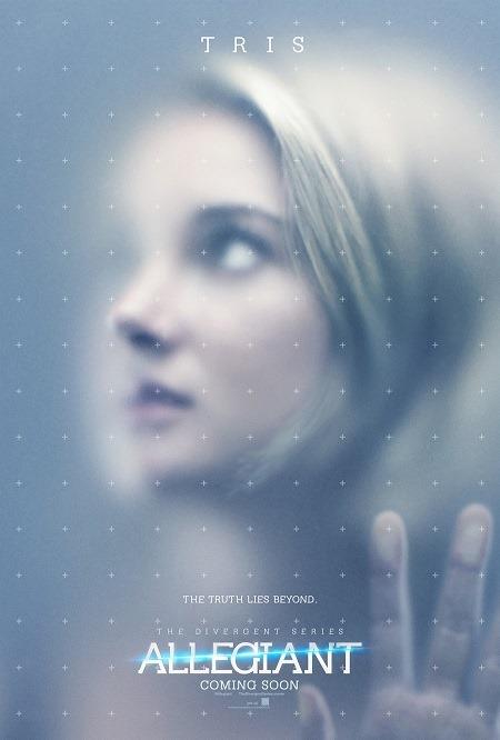 Allegiant Character Poster - Tris