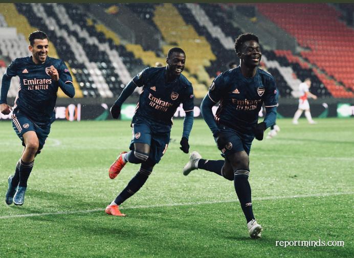 Bukayo Saka scoops Europa Player of the week