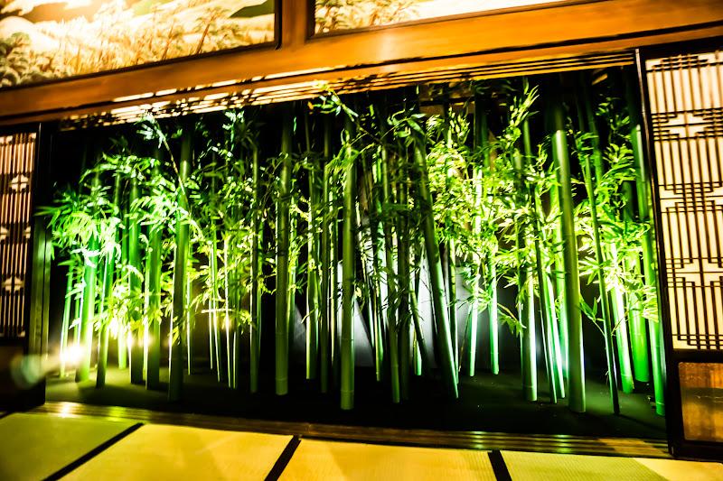 目黒雅叙園 和のあかり百段階段 竹林 写真