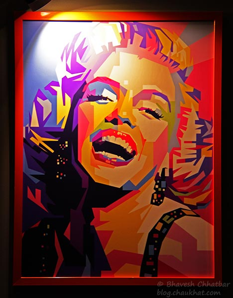 Photo Frame of Marilyn Monroe at Frisco, Koregaon Park, Pune