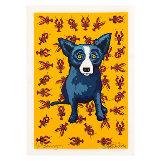 George Rodrigue Signed Serigraph