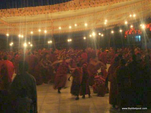 Massive religious gathering and enthronement of Dalai Lama's portrait in Lithang, Tibet. - l84.JPG