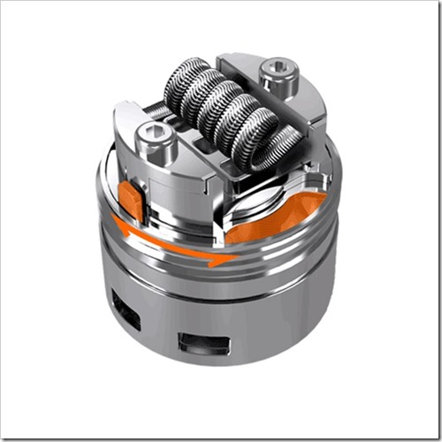 digiflavor pharaoh dripper tank b33 thumb%25255B2%25255D - 【RDTA?】シングル極太コイル可能ドリッパー!「DigiFlavor Pharaoh Dripper Tank」 【固定しやすい】
