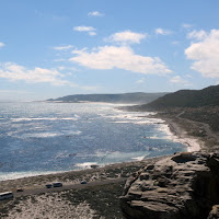 View west from Cape of Good Hope