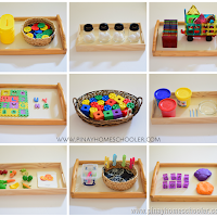 Homeschooling Activities for Toddlers (1 to 3 years old)