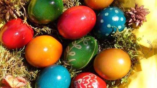 Uskrs besplatne pozadine za desktop 1920x1080 HDTV 1080p slike čestitke blagdani free download Happy Easter