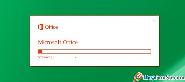 Đang cài đặt Microsoft Office 2016