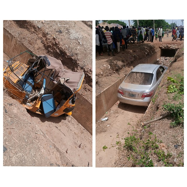 Photo/video of a  fatal accident along Awe Obi, express road beside federal University of Lafia Nasarawa state.