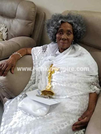 Rare photos of Ex President JJ Rawlings' mother pop up as she celebrates 100th birthday - Richkid Empire Multimedia