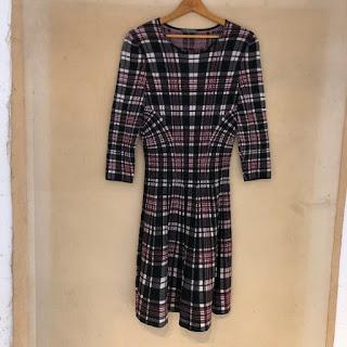 Alexander McQueen Plaid Dress