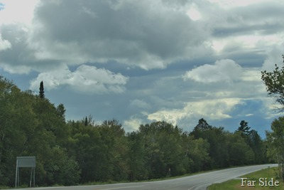 Clouds on the way to DL Aug 20