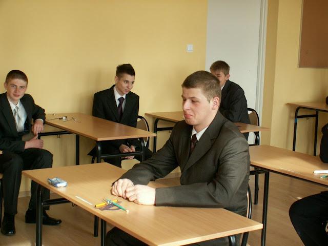 Pierwszy egzamin gimnazjalny w ZS nr 2 w Dukli 2011 - PICT1359_1.JPG