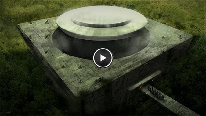 Era um antigo santuário alienígena