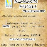 Himakom Peduli Merapi