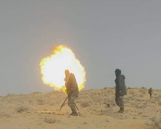 Continúan por tercer día los combates en el norte del Sáhara Occidental.