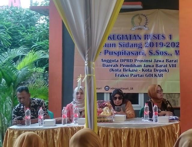 Ade Puspitasari: sebenarnya 27 Kota/Kab mereka mampu dengan APBD nya untuk membiayai SMA/SMK gratis. Termasuk Bekasi...?
