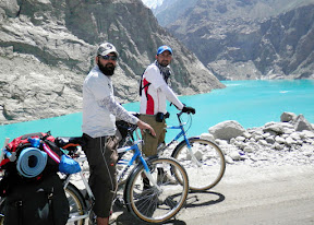 Stopover at Attabad lake