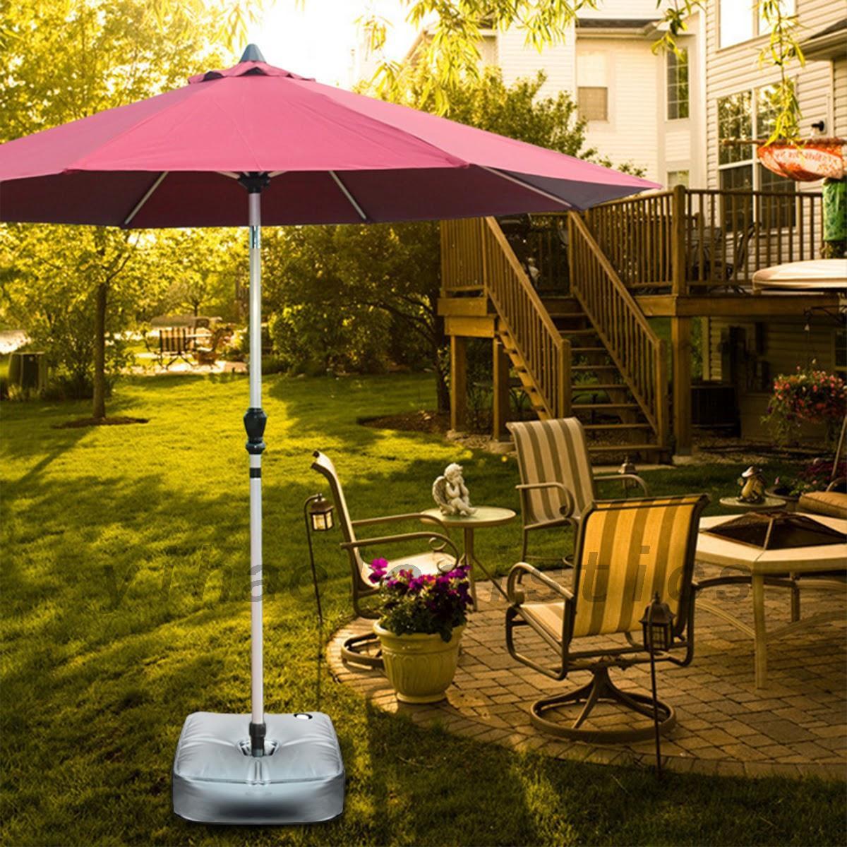 outdoor gewicht sandsack f r schirmst nder ampelschirm sonnenschirm wasserdicht eur 11 28. Black Bedroom Furniture Sets. Home Design Ideas