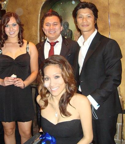 Jt Tran Pua And Actor Dustin Nguyen His Wife And Friend, Asian Playboy