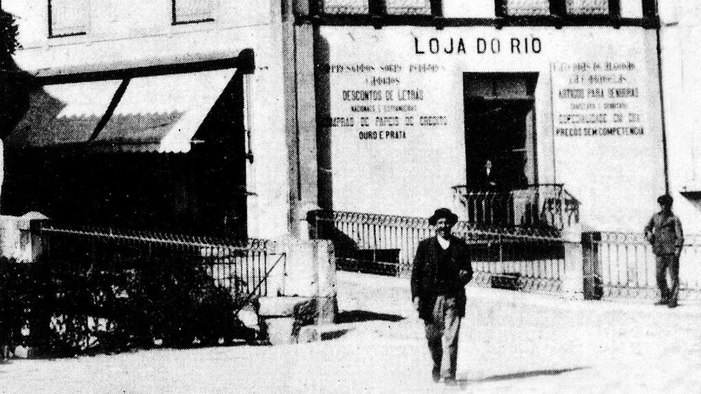 Fundo da rua Olaria, LOJA do João do rio