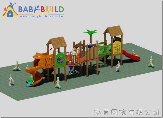 BabyBuild 檜木遊具