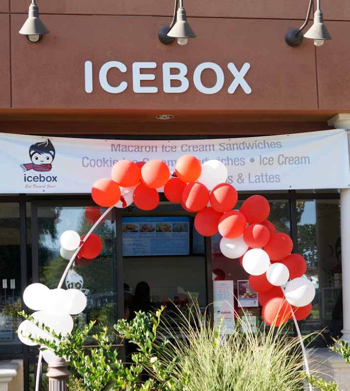 photo of the outside of Icebox