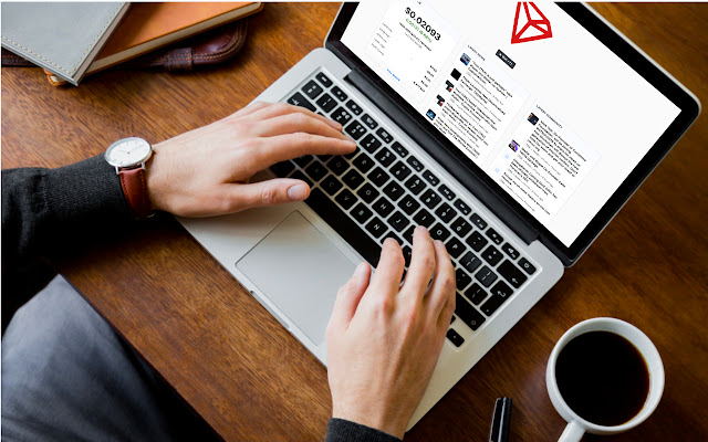TRON Tab - Streaming price & market info.