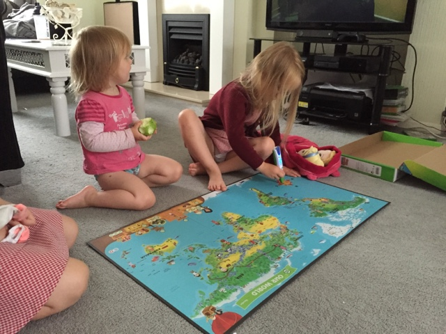 leapfrog interactive world map