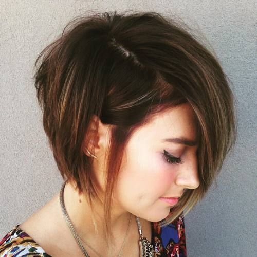 Latest Short Haircuts For Thick Hair 2018 5