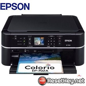 Epson EP-702A Waste Ink Pads Counter Reset Key