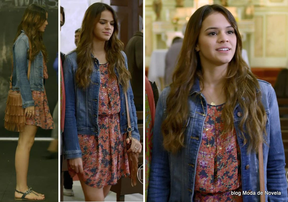 moda da novela Em Família - look da Luiza dia 3 de junho