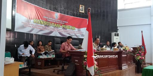 Konsultasi Publik Ranperda, Wilayah Makale Bebas Kandang Babi