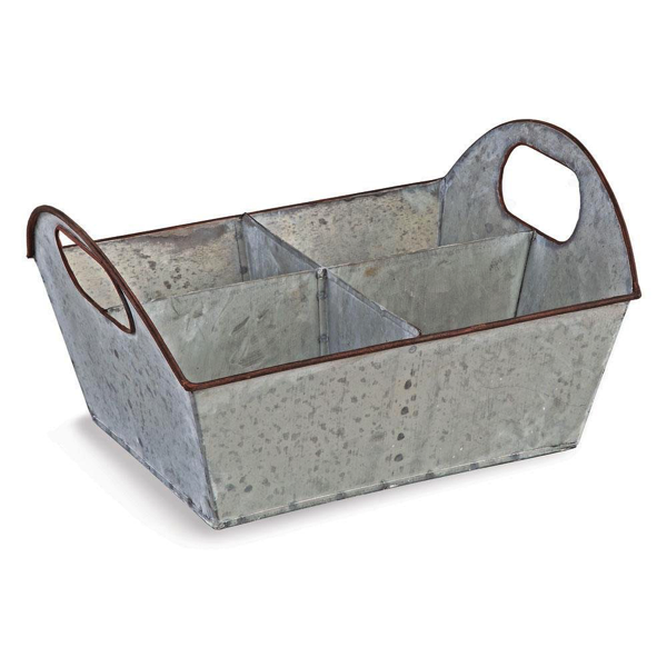 Zinc Herb Caddy