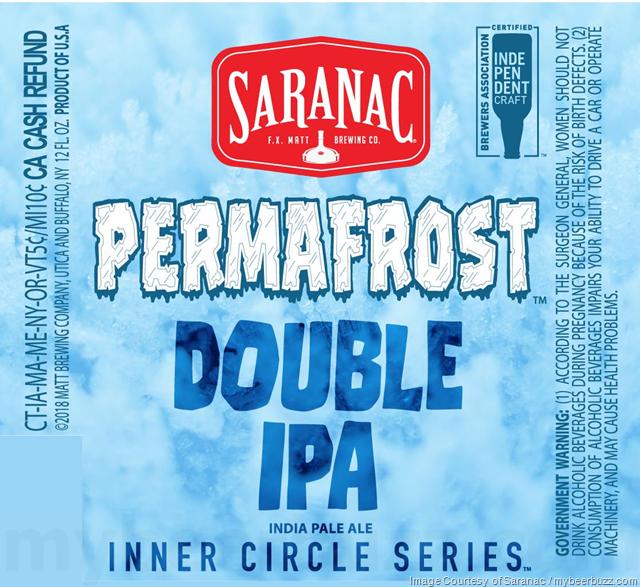 Saranac Permafrost DIPA Coming To Inner Circle Series