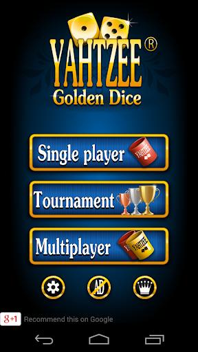 Yahtzee ® Dice Game