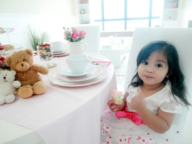 |  DIY IDEAS | High Tea Table Setting Dreamy Princess Pink White Theme Featuring Ikea's Products