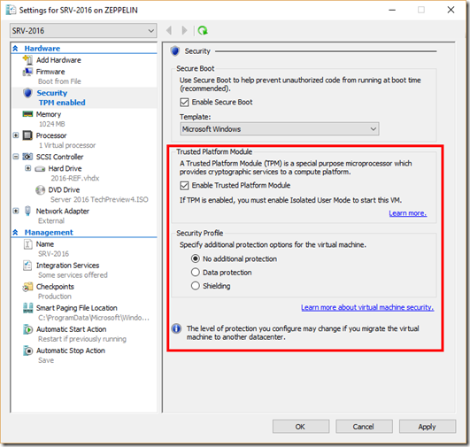 The Trembling Uterus: Securing Virtual Machines in Windows 10