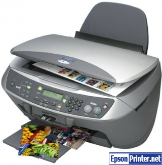 How to reset Epson CX6400 printer