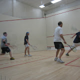 Open 5.5 finals...Chris Smith (far right) showed some killer forehand shots!