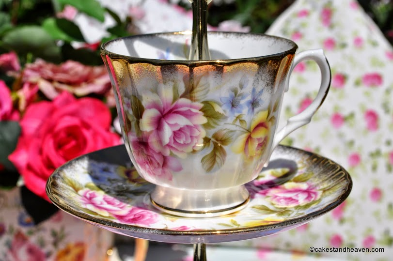 Royal Winchester teacup and saucer top tier